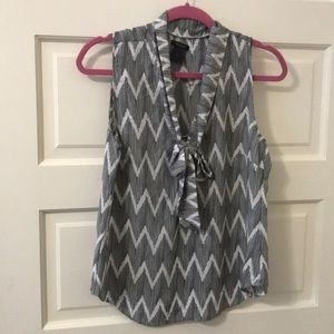 Ann Taylor blouse with bow! Size S